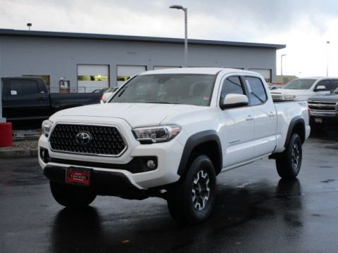 Certified Pre-Owned 2018 Toyota Tacoma Double Cab TRD Off-Road w/ Technology Pkg Crew Cab Pickup