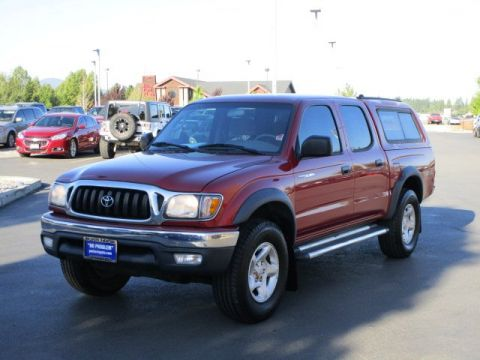 Pre-Owned 2004 Toyota Tacoma Double Cab SR5 TRD Off-Road Crew Cab Pickup